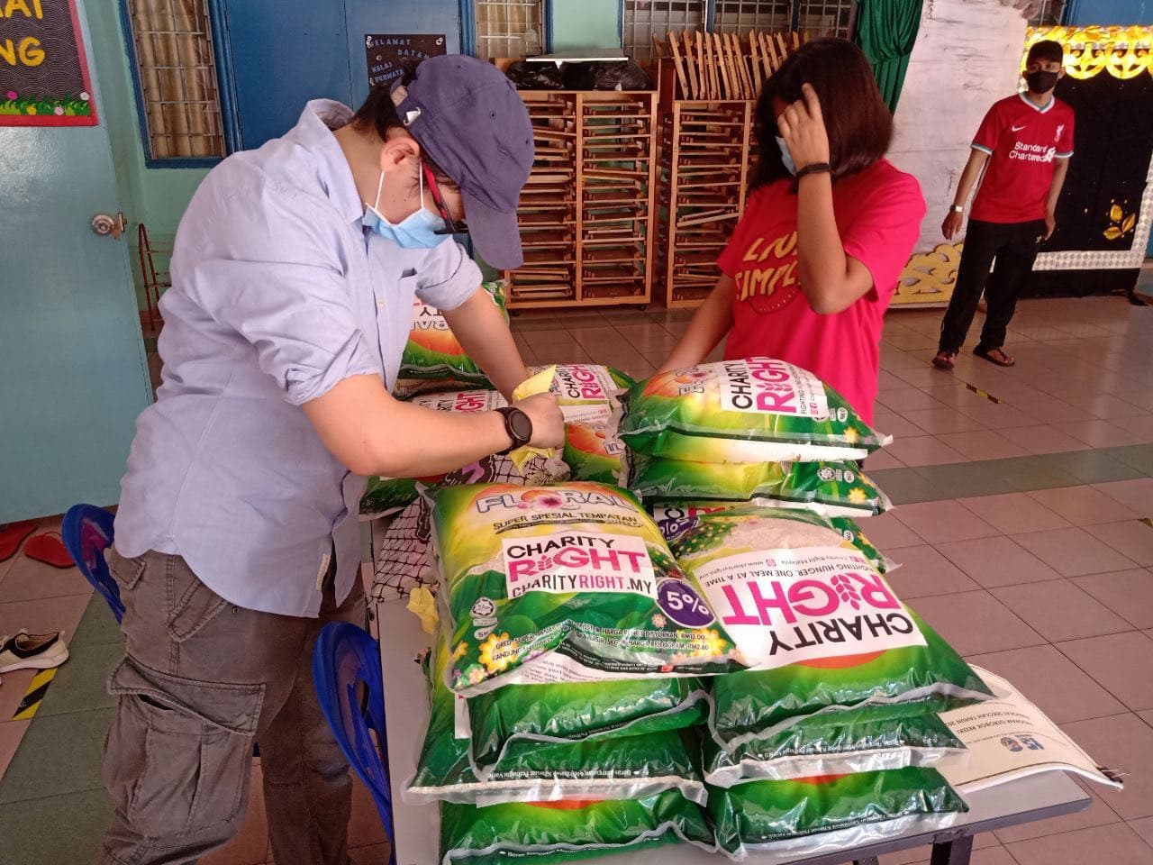 Covid-19 Food Aid Relief: SK Bukit Jalil